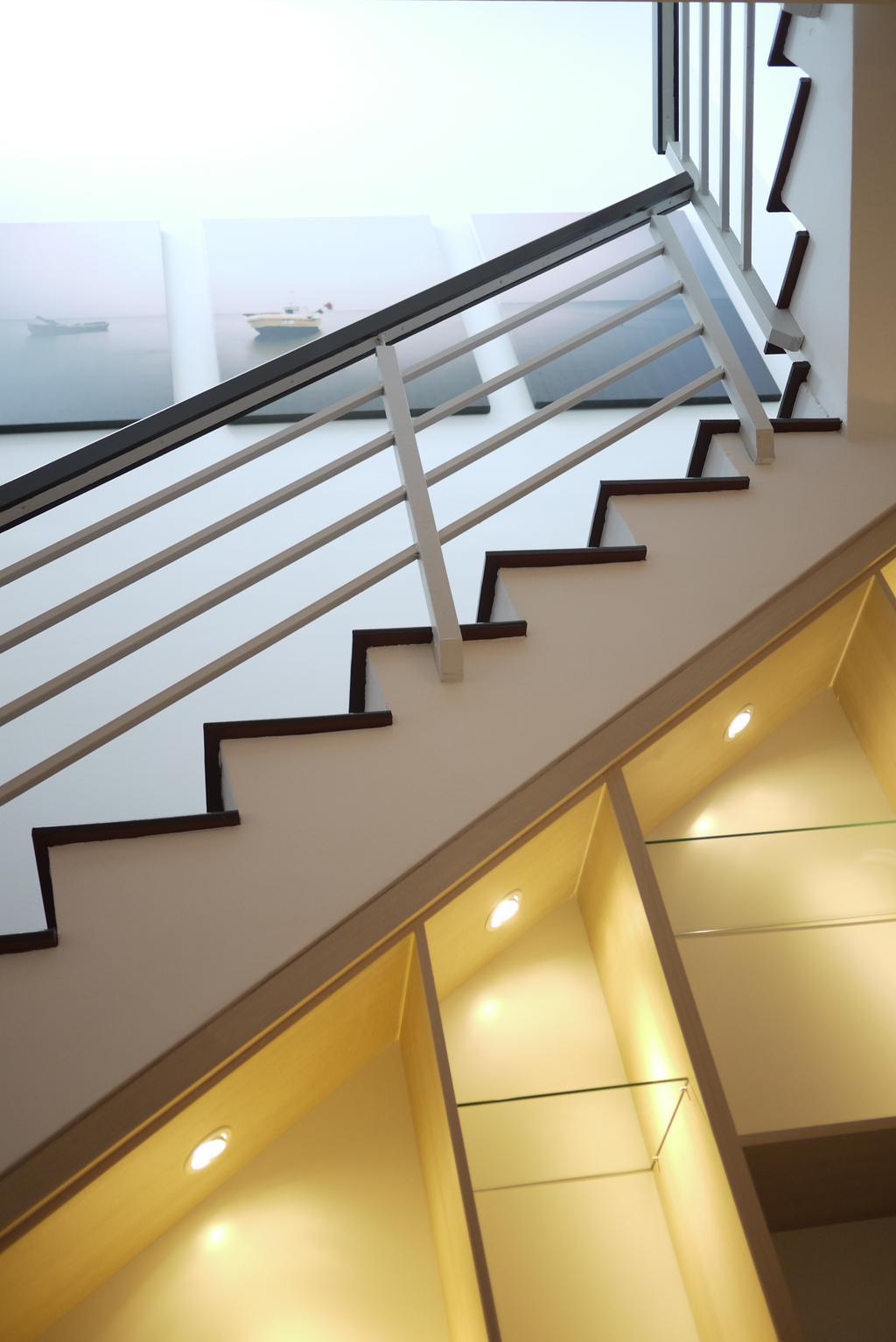 Minimalistic, Landed, Bukit Tengah, Interior Designer, Minterior Project Sdn Bhd, Architecture, Building, Skylight, Window