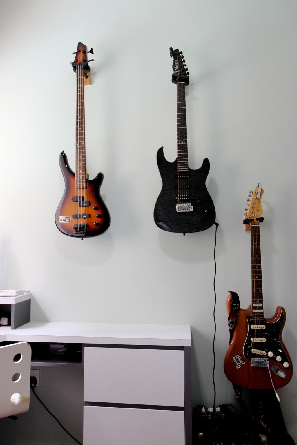 Condo, The Amore, Interior Designer, Aestherior, Electric Guitar, Guitar, Leisure Activities, Music, Musical Instrument