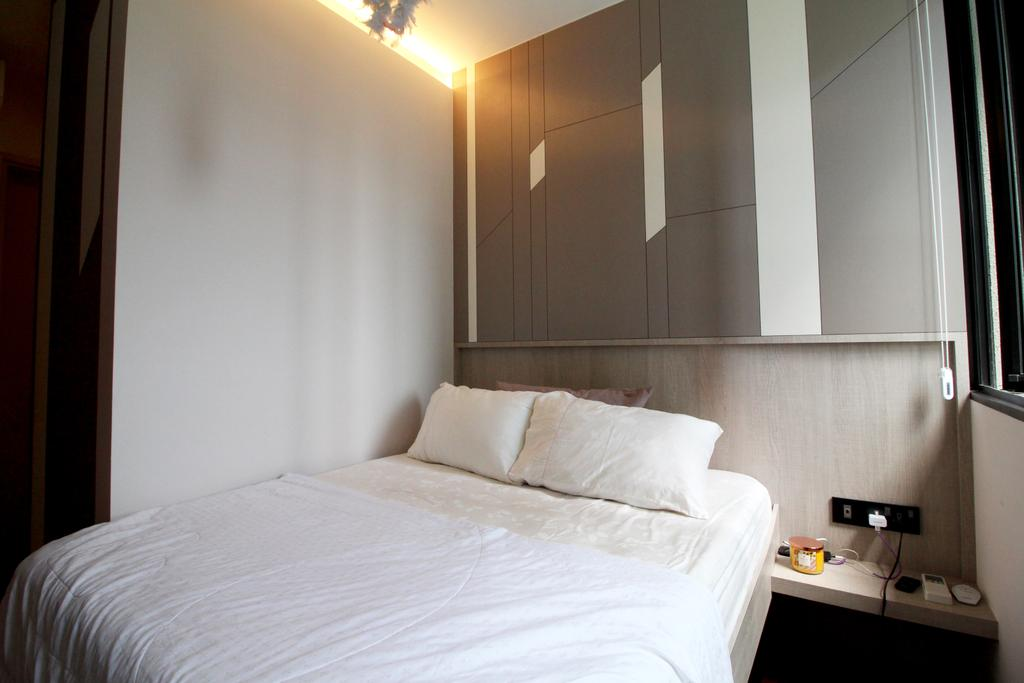 Condo, Bedroom, The Amore, Interior Designer, Aestherior, Indoors, Interior Design, Room, Bed, Furniture