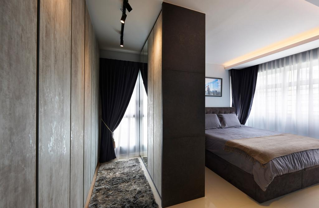 Contemporary, HDB, Bedroom, Yishun Street 51 (Block 505B), Interior Designer, AC Vision Design