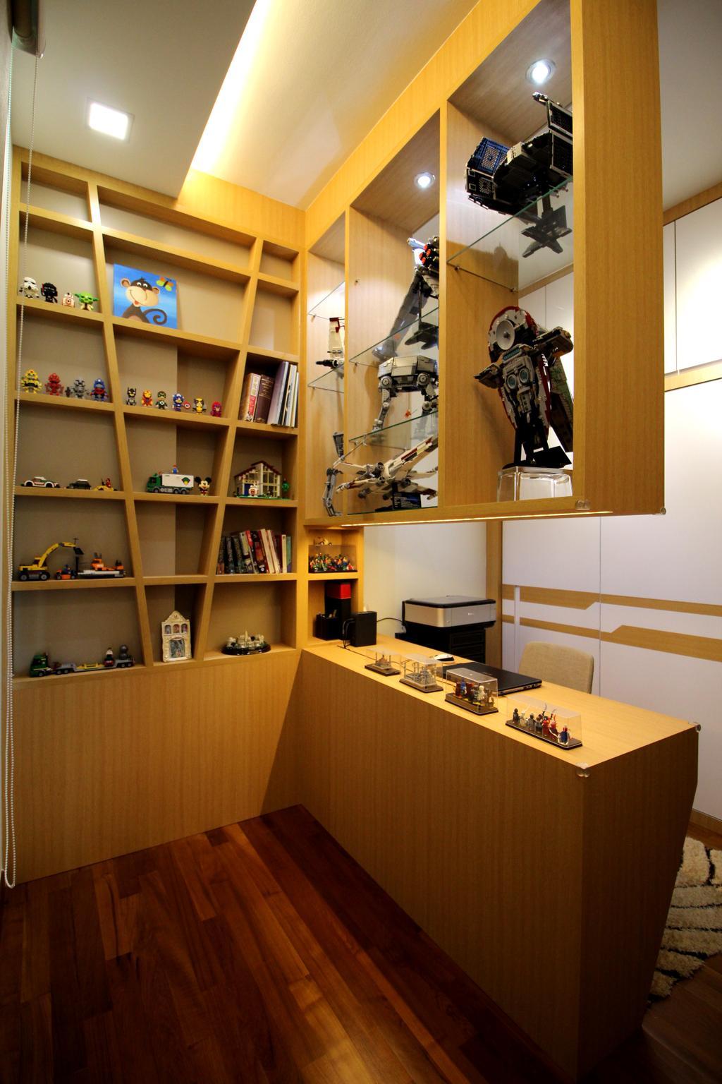 Condo, Study, Parc Palais, Interior Designer, Aestherior, Robot
