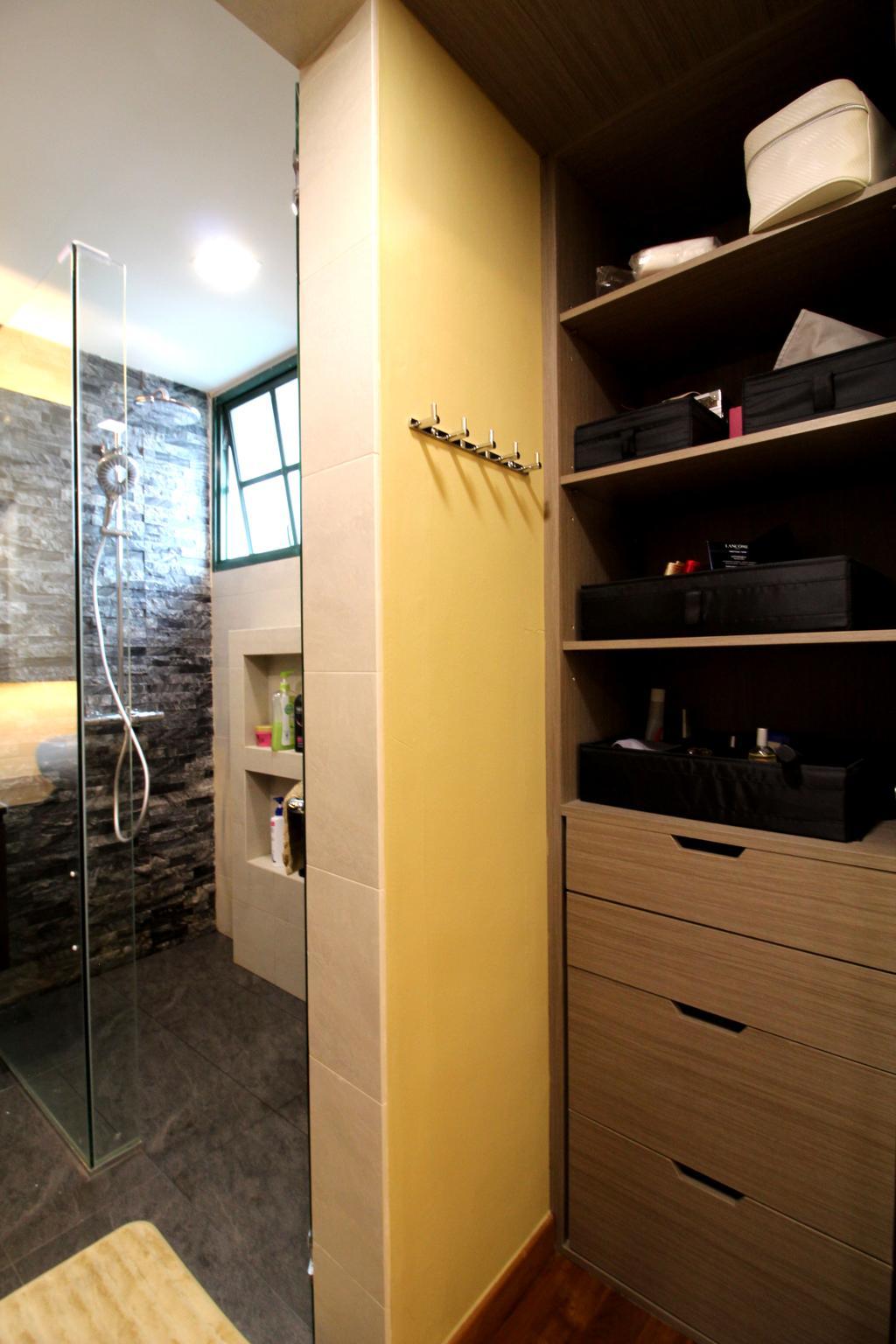 Condo, Parc Palais, Interior Designer, Aestherior, Shelf, HDB, Building, Housing, Indoors
