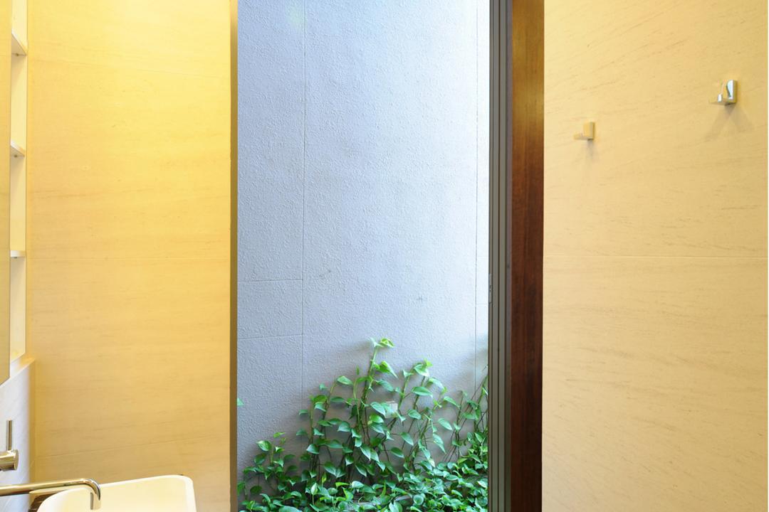 32 Allamanda Grove, TENarchitects, Contemporary, Bathroom, Landed, Outdoor, Plant, Nature, Simple, Flora, Ivy