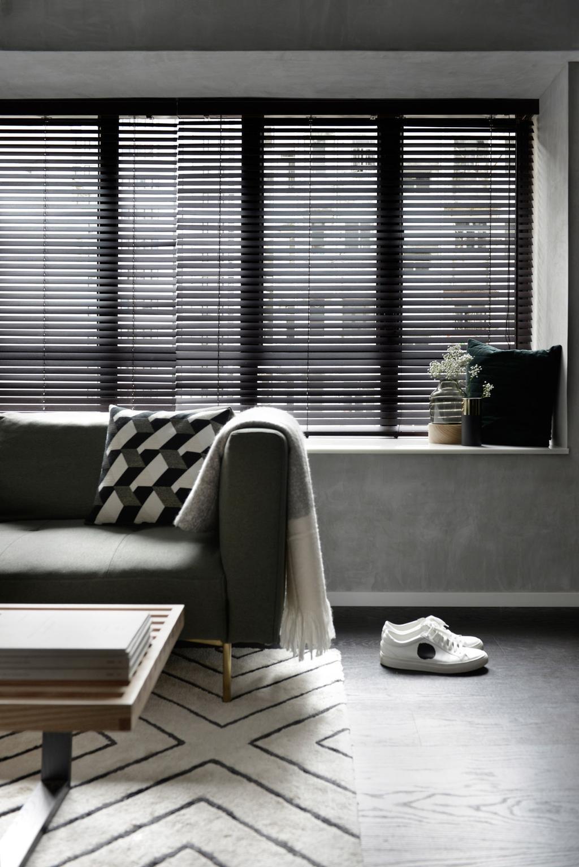 北歐, 私家樓, 客廳, 跑馬地, 室內設計師, hoo, 工業, Bay Window, Settee, Chair, Furniture, Cushion, Home Decor