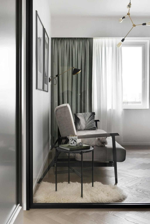 當代, 私家樓, 書房, 跑馬地, 室內設計師, hoo, 古典, Chair, Furniture