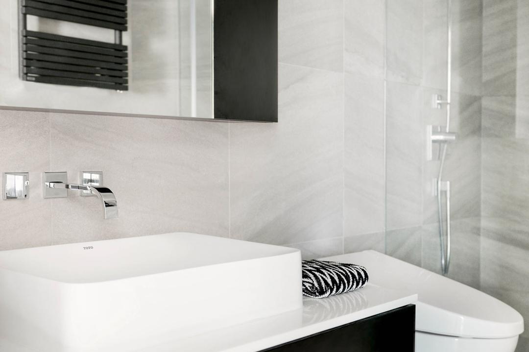 跑馬地, hoo, 當代, 古典, 浴室, 私家樓, Indoors, Interior Design, Room, Bathtub, Tub