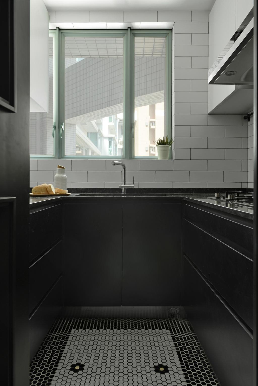 北歐, 私家樓, 廚房, 將軍澳, 室內設計師, hoo, 復古, 工業