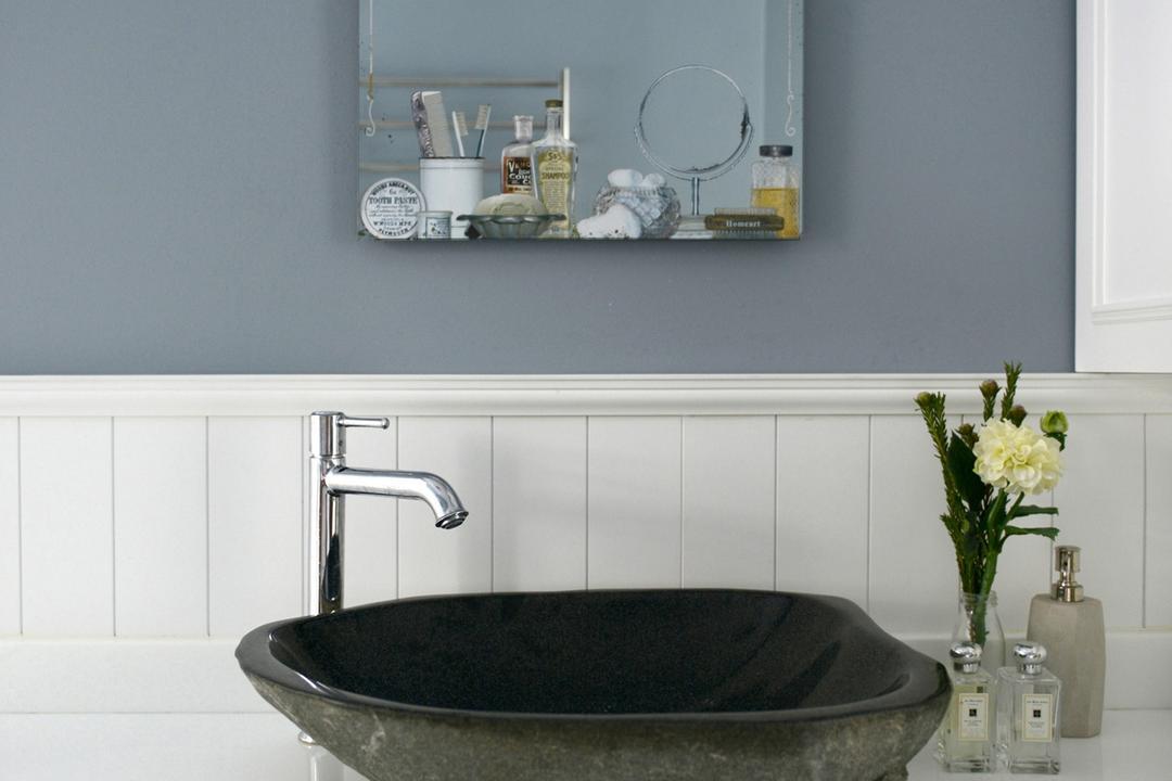 舂坎角, hoo, 北歐, 工業, 浴室, 私家樓, Grey, Powder Blue, Tap