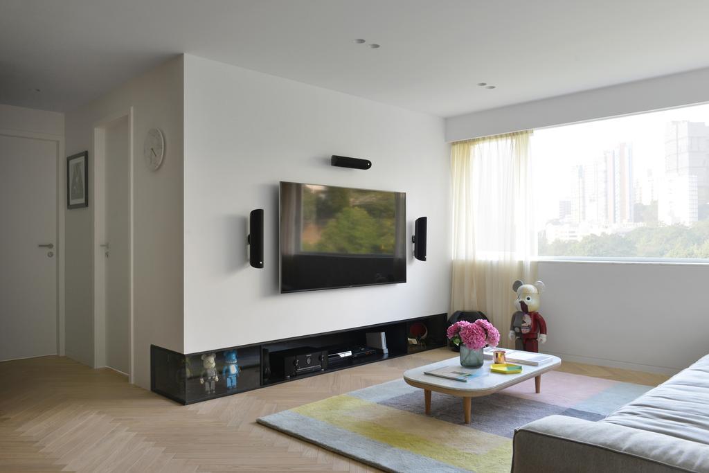 北歐, 私家樓, 客廳, 薄扶林, 室內設計師, hoo, 摩登, Indoors, Room, Couch, Furniture
