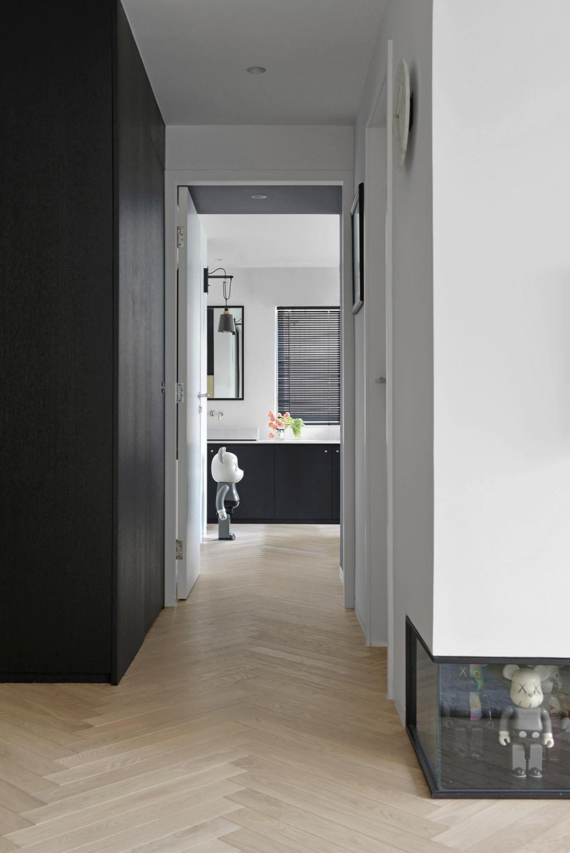 北歐, 私家樓, 客廳, 薄扶林, 室內設計師, hoo, 摩登, Corridor, Hallway, Storage, Display, Furniture, Sideboard