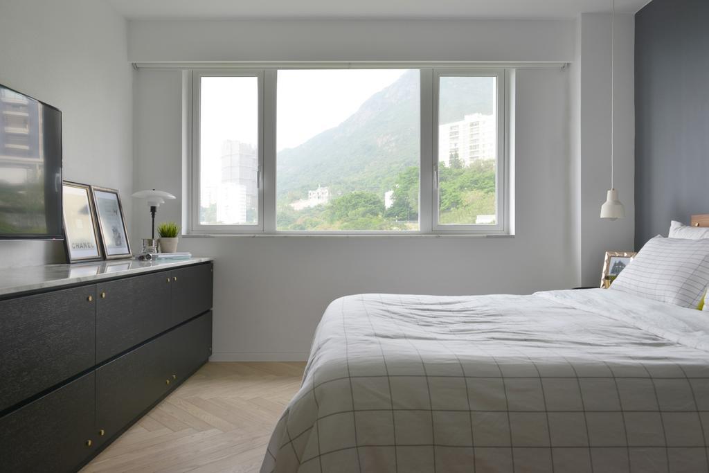 北歐, 私家樓, 睡房, 薄扶林, 室內設計師, hoo, 摩登, Indoors, Interior Design, Room