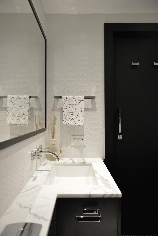 北歐, 私家樓, 浴室, 薄扶林, 室內設計師, hoo, 摩登, Indoors, Interior Design, Room
