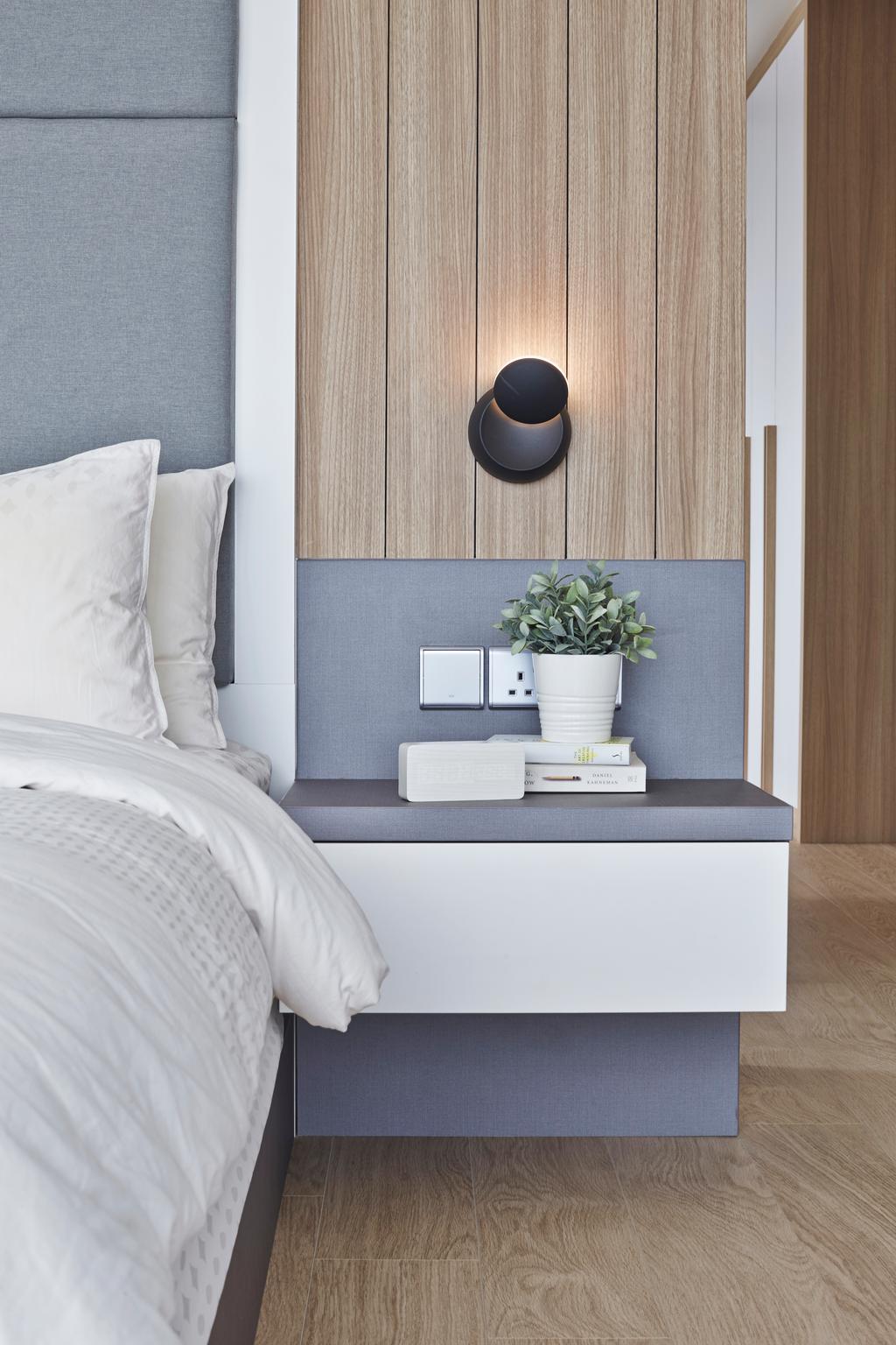 Scandinavian, Condo, Bedroom, Corals at Keppel Bay, Interior Designer, Space Define Interior, Flora, Jar, Plant, Potted Plant, Pottery, Vase, Planter