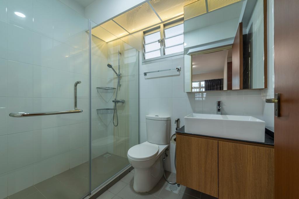 HDB, Bathroom, Canberra Street, Interior Designer, 9 Creation, Toilet, Indoors, Interior Design, Room