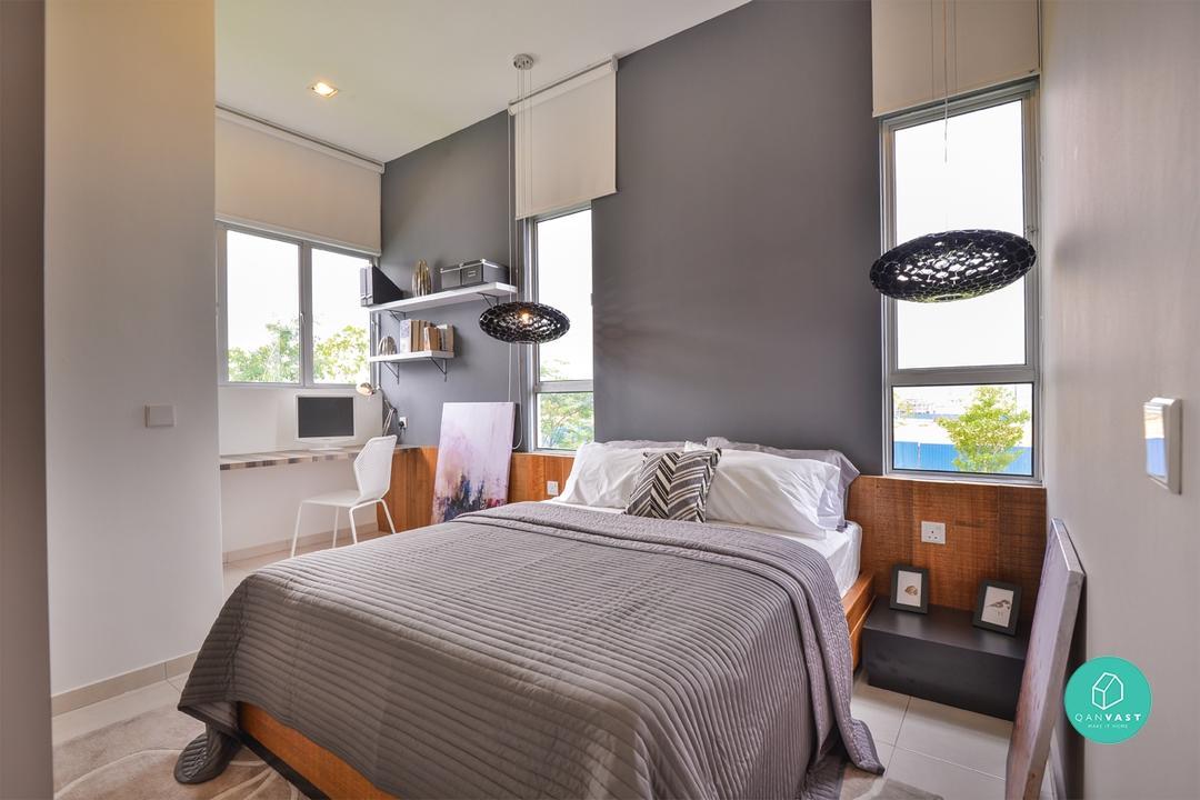 Grey Colour 2017 Interiors Paint Walls