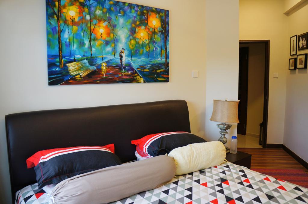 Modern, Condo, Bedroom, Mandarin Gardens, Interior Designer, AgcDesign