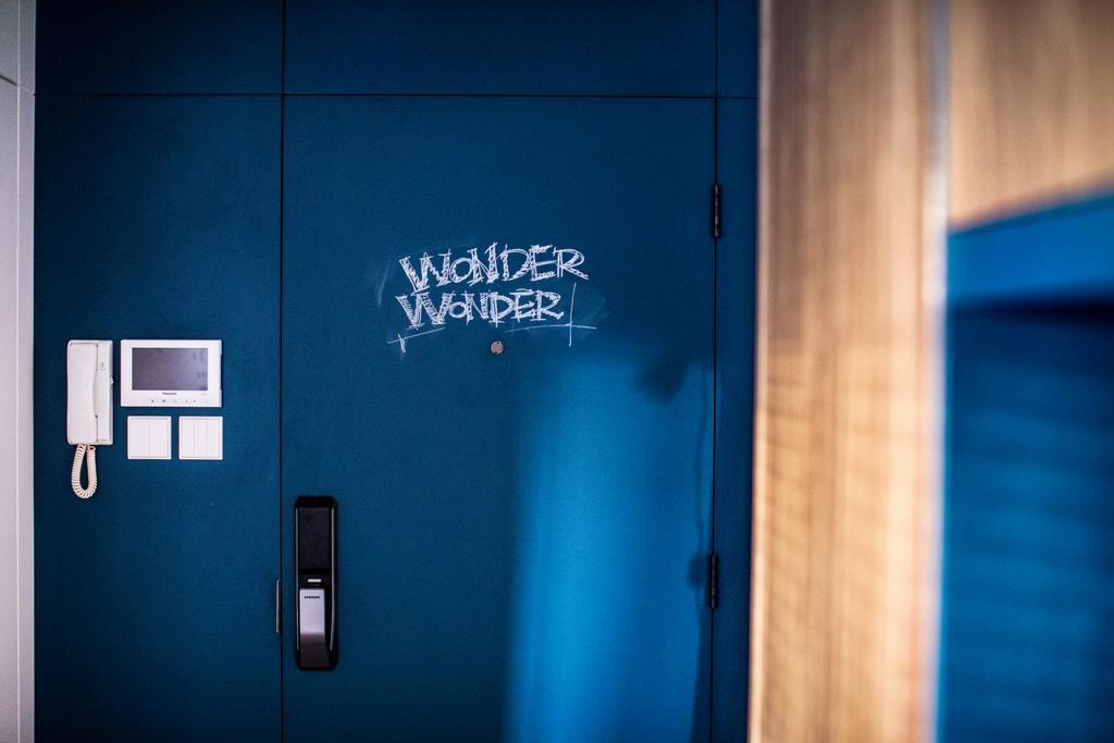 復古, 私家樓, 客廳, 美孚新邨, 室內設計師, wonderwonder, Digital Lock, Entrance