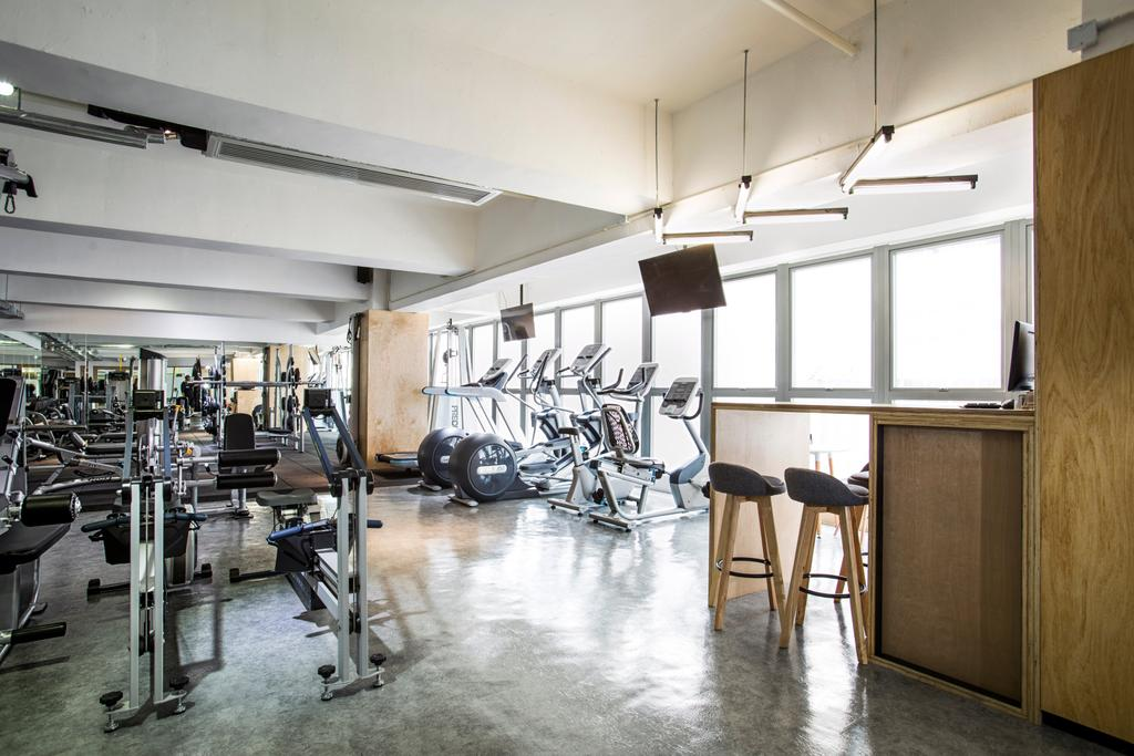 FIT LAB, 商用, 室內設計師, wonderwonder, Exercise, Fitness, Gym, Sport, Sports, Working Out, Chair, Furniture, Door, Sliding Door, Dining Table, Table