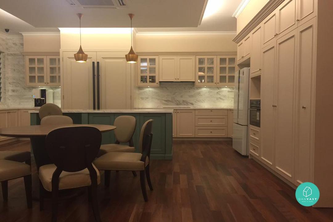 Shaker Style Kitchen Design Malaysia