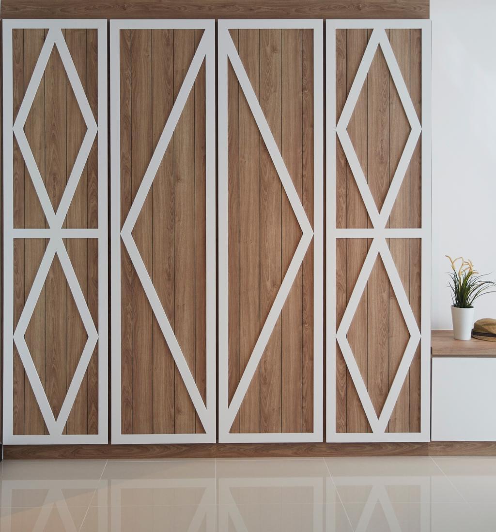 Scandinavian, HDB, Living Room, Bukit Batok Street 22, Interior Designer, i-Chapter, Flora, Jar, Plant, Potted Plant, Pottery, Vase