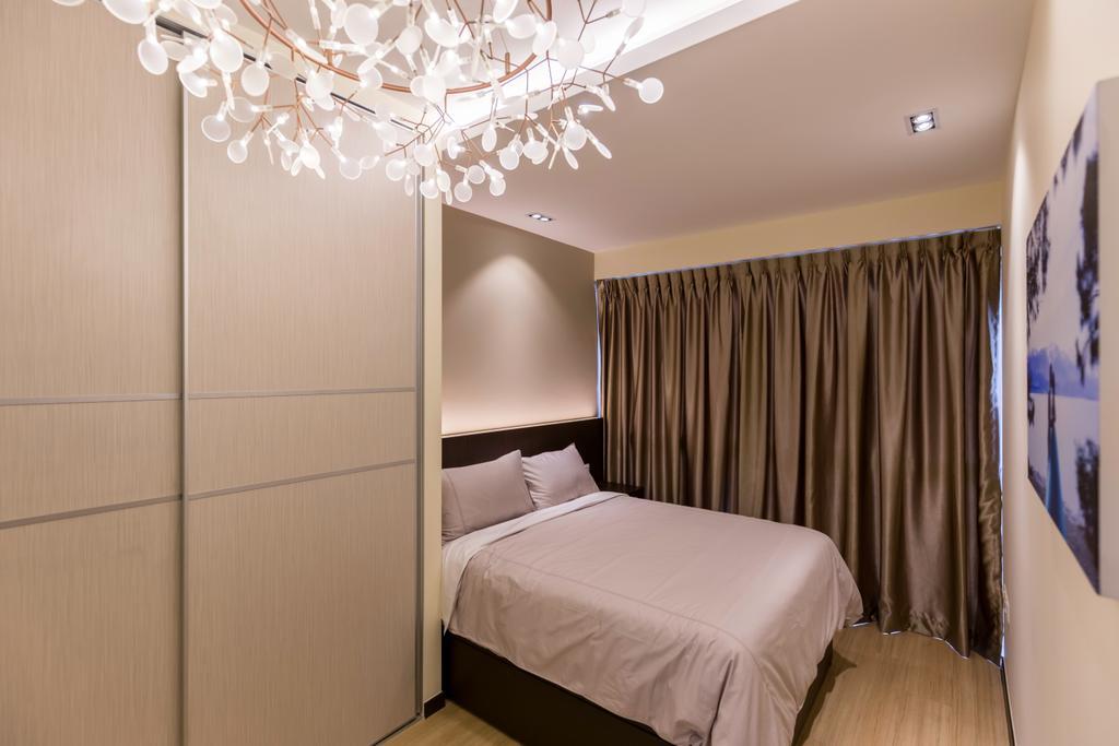 Modern, Condo, Bedroom, Lake Life, Interior Designer, The Orange Cube, Indoors, Interior Design, Room