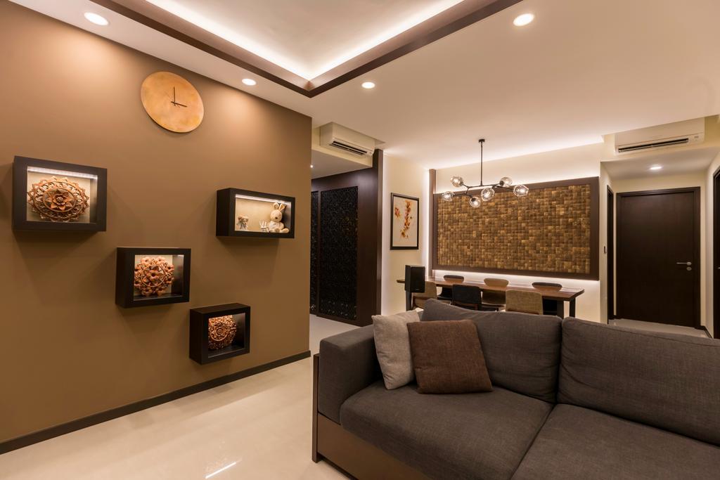 Modern, Condo, Living Room, Lake Life, Interior Designer, The Orange Cube, Couch, Furniture, Indoors, Interior Design
