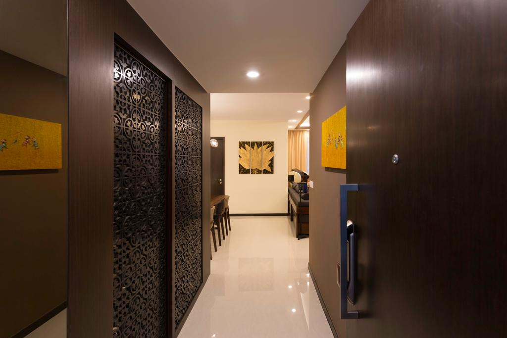 Modern, Condo, Lake Life, Interior Designer, The Orange Cube, Corridor