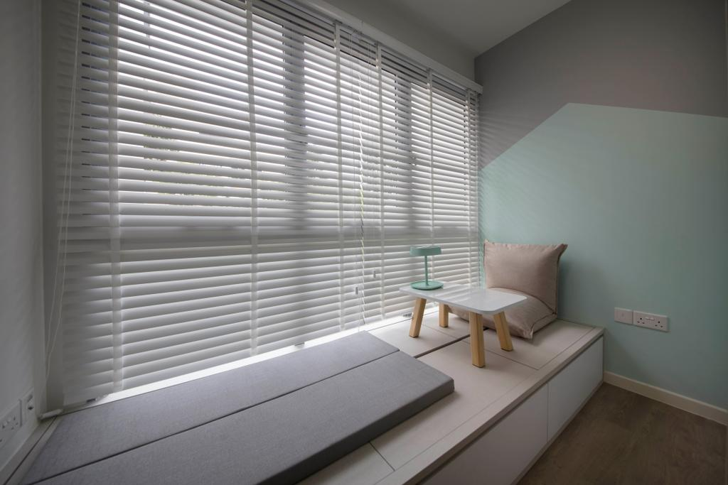 Scandinavian, HDB, Study, Pasir Ris Drive 1, Interior Designer, D Initial Concept, Minimalistic