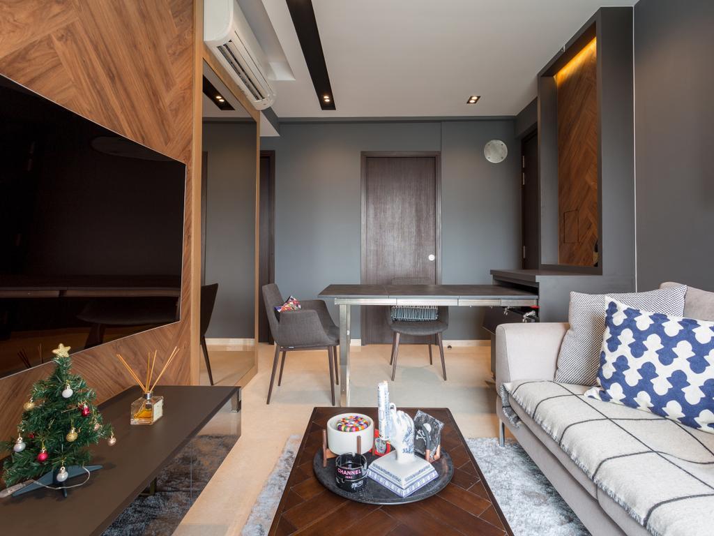 Scandinavian, Condo, Dining Room, 8M Residence, Interior Designer, Posh Home, Contemporary, Indoors, Room, Furniture, Tabletop