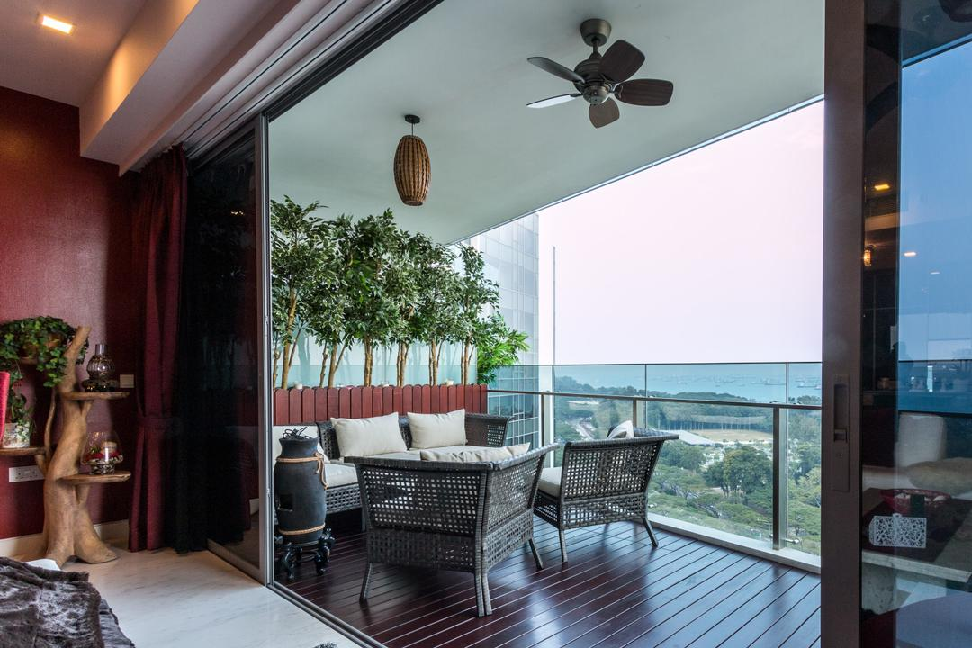 Balcony Fan | Interior Design Singapore | Interior Design Ideas
