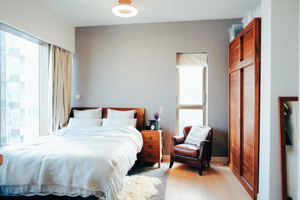 復古, 私家樓, 睡房, Kensington Hill, 室內設計師, The Realizes co., Indoors, Interior Design, Room