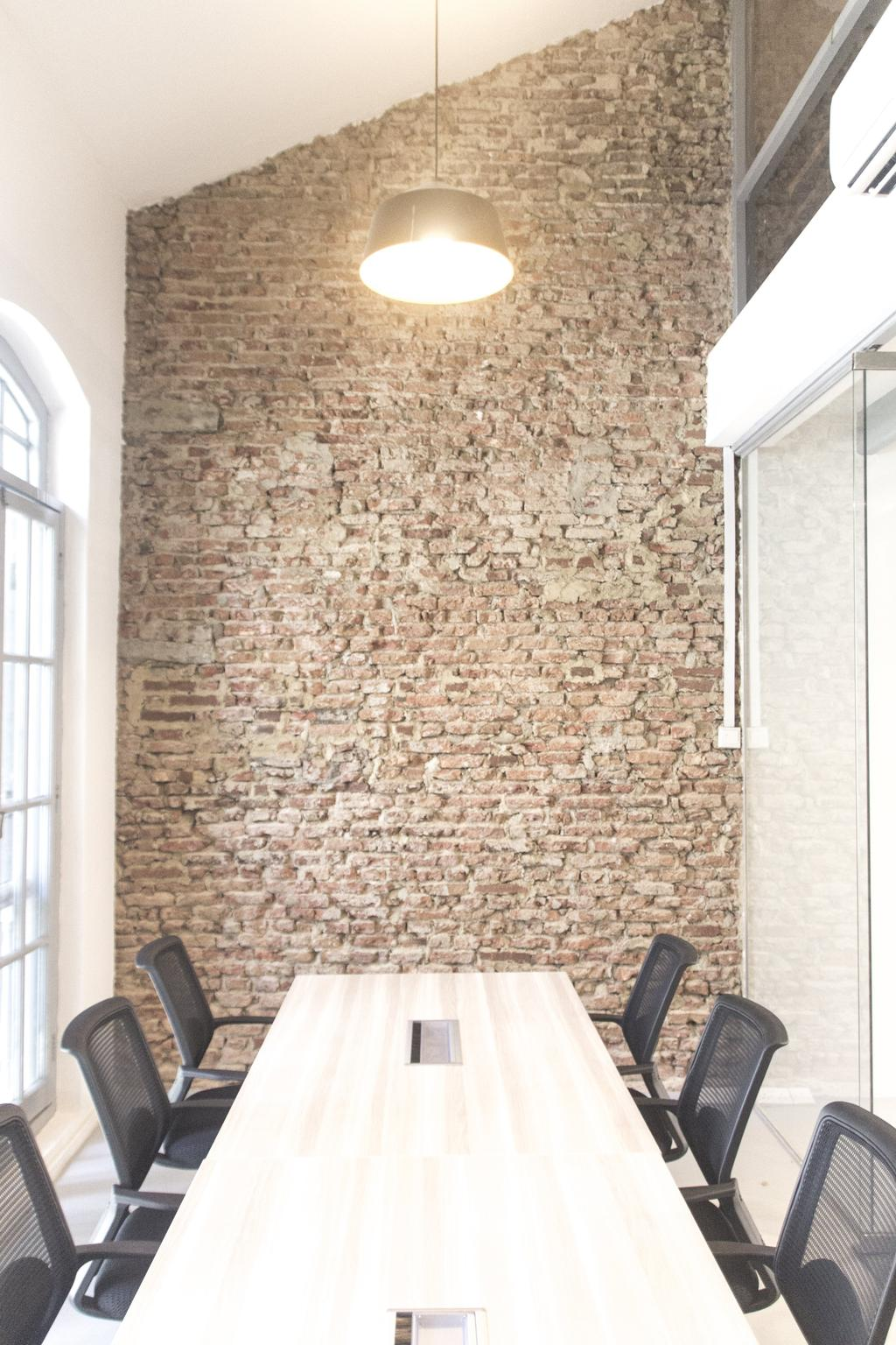 19 Cantonment, Commercial, Architect, PROVOLK ARCHITECTS, Modern, Meeting Room, Brick Wall, Unfinished, Office Chairs, Conference Room, Boardroom, High Ceiling, Brick