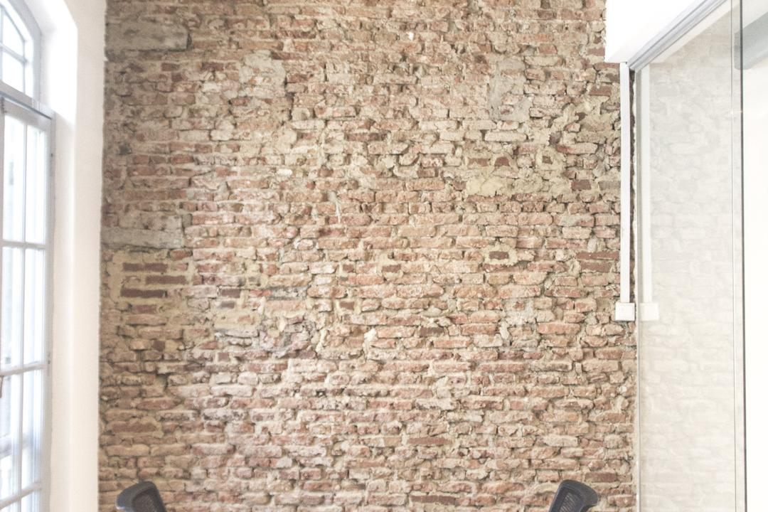 19 Cantonment, PROVOLK ARCHITECTS, Modern, Commercial, Meeting Room, Brick Wall, Unfinished, Office Chairs, Conference Room, Boardroom, High Ceiling, Brick