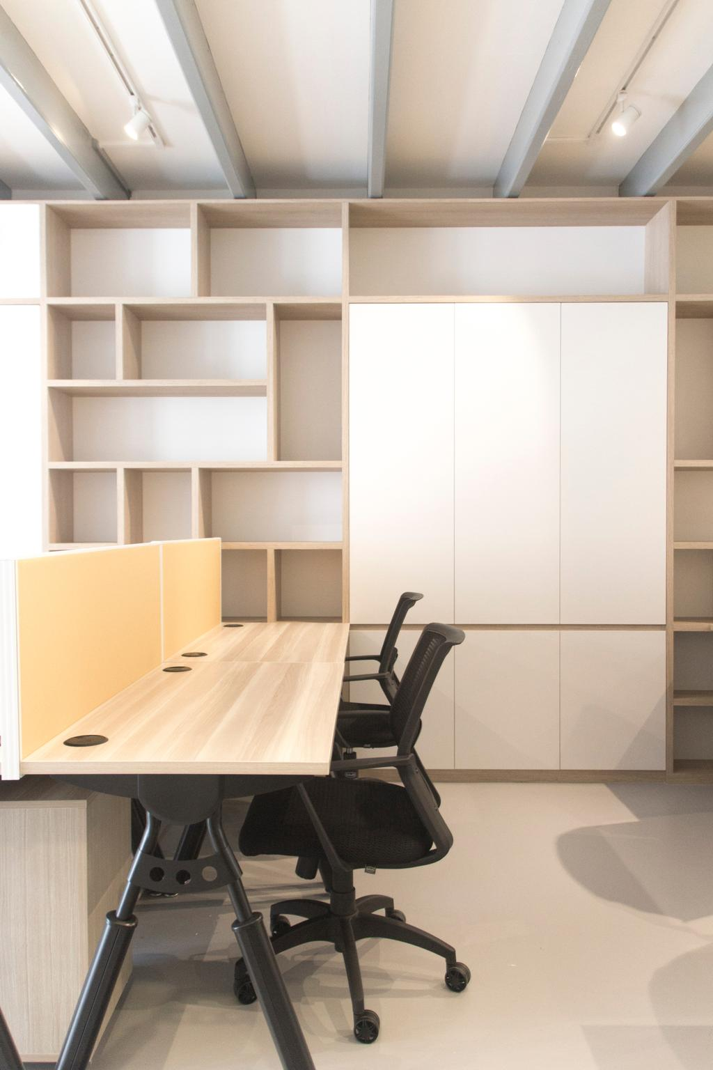 19 Cantonment, Commercial, Architect, PROVOLK ARCHITECTS, Modern, Cubicle, Work Desk, Cubbyhole, Cabinet, Furniture, Chair