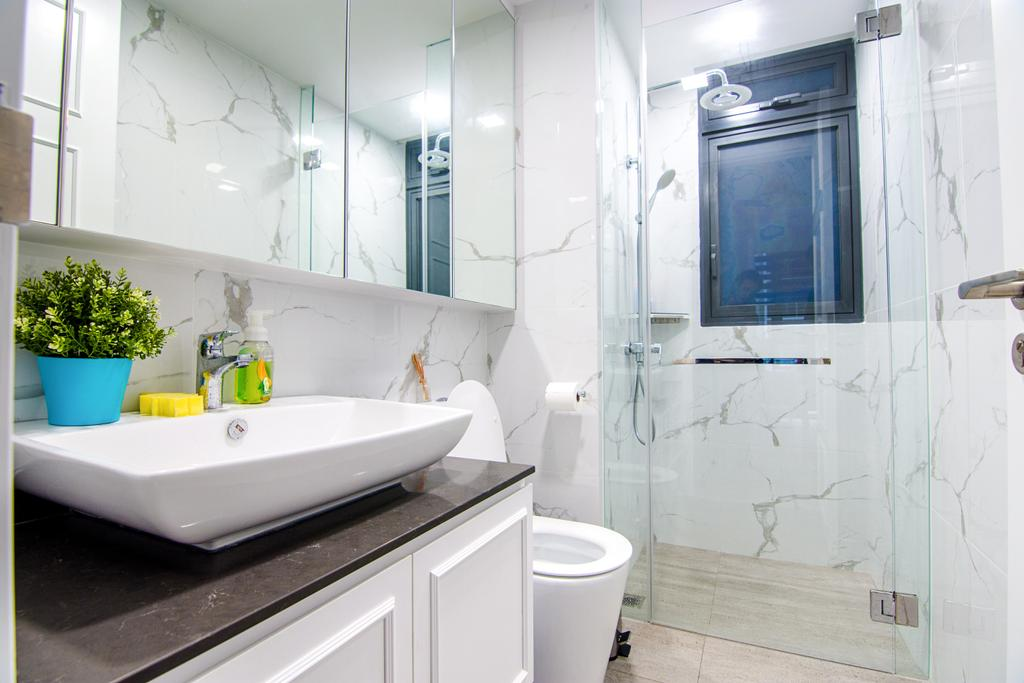 Modern, Condo, Bathroom, Bellewaters, Interior Designer, Design Story