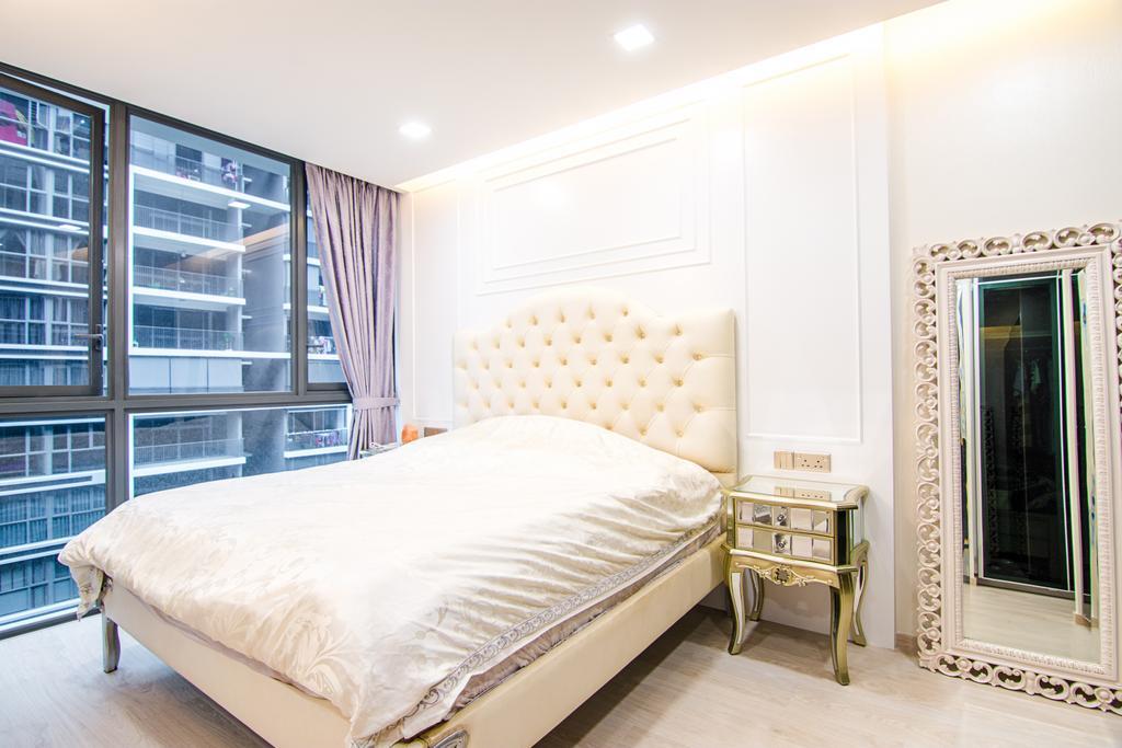 Modern, Condo, Bedroom, Bellewaters, Interior Designer, Design Story, Indoors, Interior Design, Room