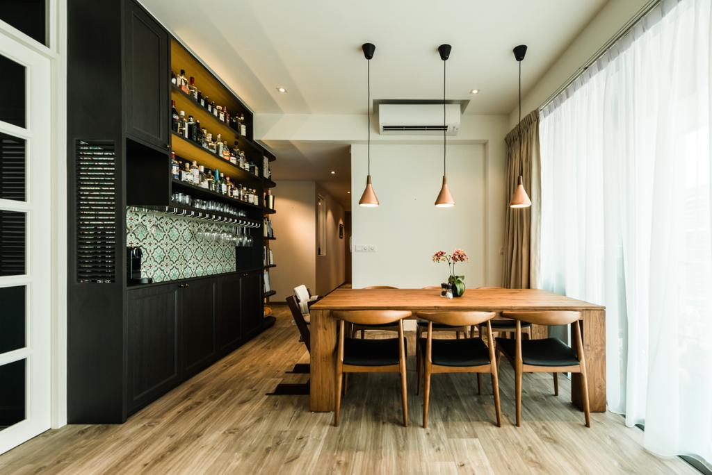 Contemporary, Condo, Dining Room, Martin Place, Interior Designer, Mr Shopper Studio, Dining Table, Furniture, Table, Indoors, Interior Design, Room