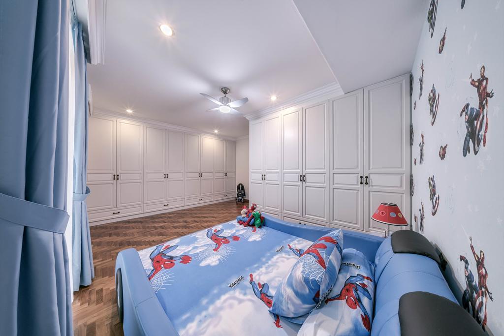 Modern, Landed, Kew Avenue, Interior Designer, T&T Design Artisan, Bedroom, Indoors, Interior Design, Room