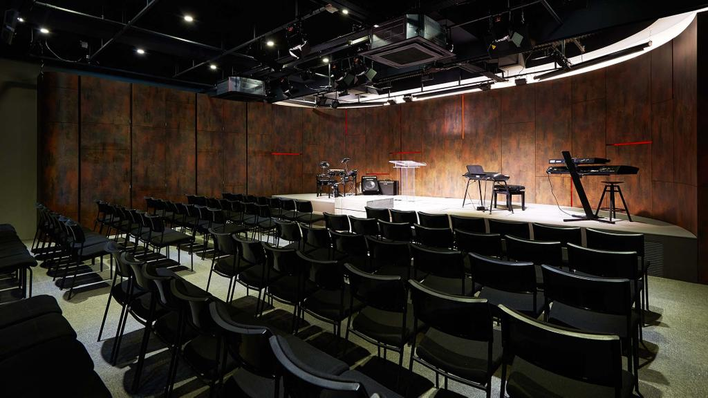 One Commonwealth, Commercial, Architect, PROVOLK ARCHITECTS, Modern, Chair, Furniture, Auditorium, Hall, Indoors, Interior Design, Room, Theater, Scale, Stage, Lighting, Conference Room, Meeting Room