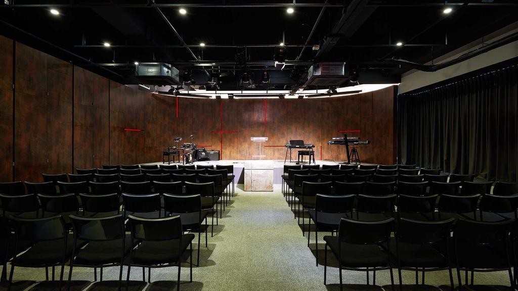 One Commonwealth, Commercial, Architect, PROVOLK ARCHITECTS, Modern, Theatre, Auditorium, Stage, Conference Room, Ballroom, Chair, Furniture, Hall, Indoors, Interior Design, Room, Theater, Lighting, Meeting Room