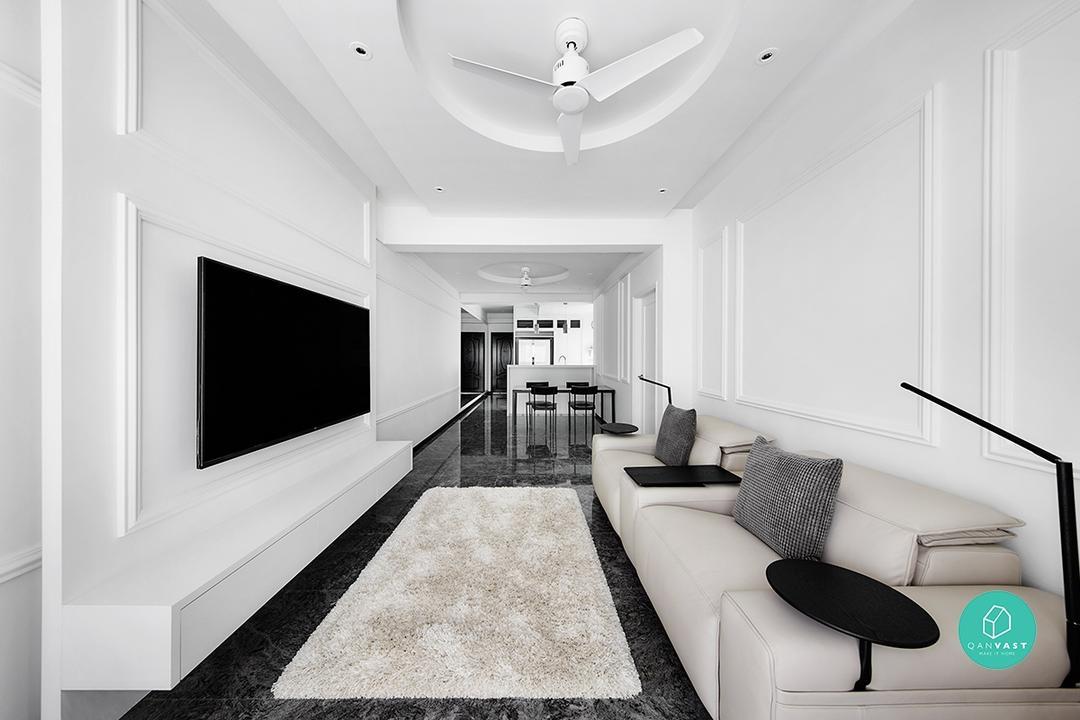 monochrome decor