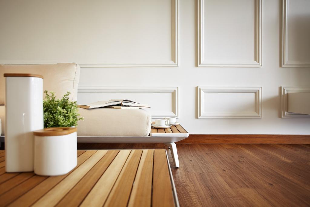 Scandinavian, Condo, Dining Room, Chuan Park, Interior Designer, I-Bridge Design, Hardwood, Wood