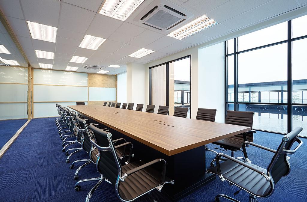 Mentor Media @Jalan Buroh, Commercial, Interior Designer, I-Bridge Design, Scandinavian, Conference Room, Indoors, Meeting Room, Room, Chair, Furniture