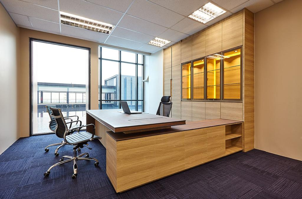 Mentor Media @Jalan Buroh, Commercial, Interior Designer, I-Bridge Design, Scandinavian, Chair, Furniture