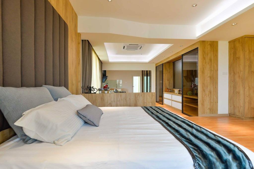 Contemporary, Landed, Laman Rimbunan, Kepong, Interior Designer, Torch Empire, Bed, Furniture, Indoors, Room