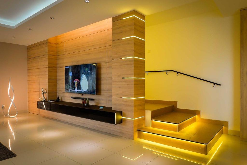 Contemporary, Landed, Laman Rimbunan, Kepong, Interior Designer, Torch Empire, Indoors, Interior Design