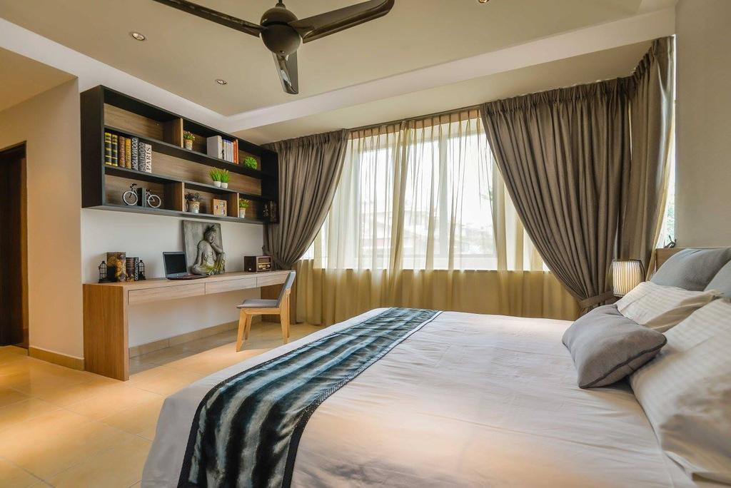 Contemporary, Landed, Laman Rimbunan, Kepong, Interior Designer, Torch Empire, Bedroom, Indoors, Interior Design, Room