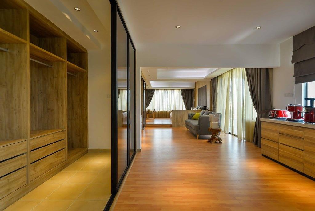 Contemporary, Landed, Laman Rimbunan, Kepong, Interior Designer, Torch Empire, Flooring