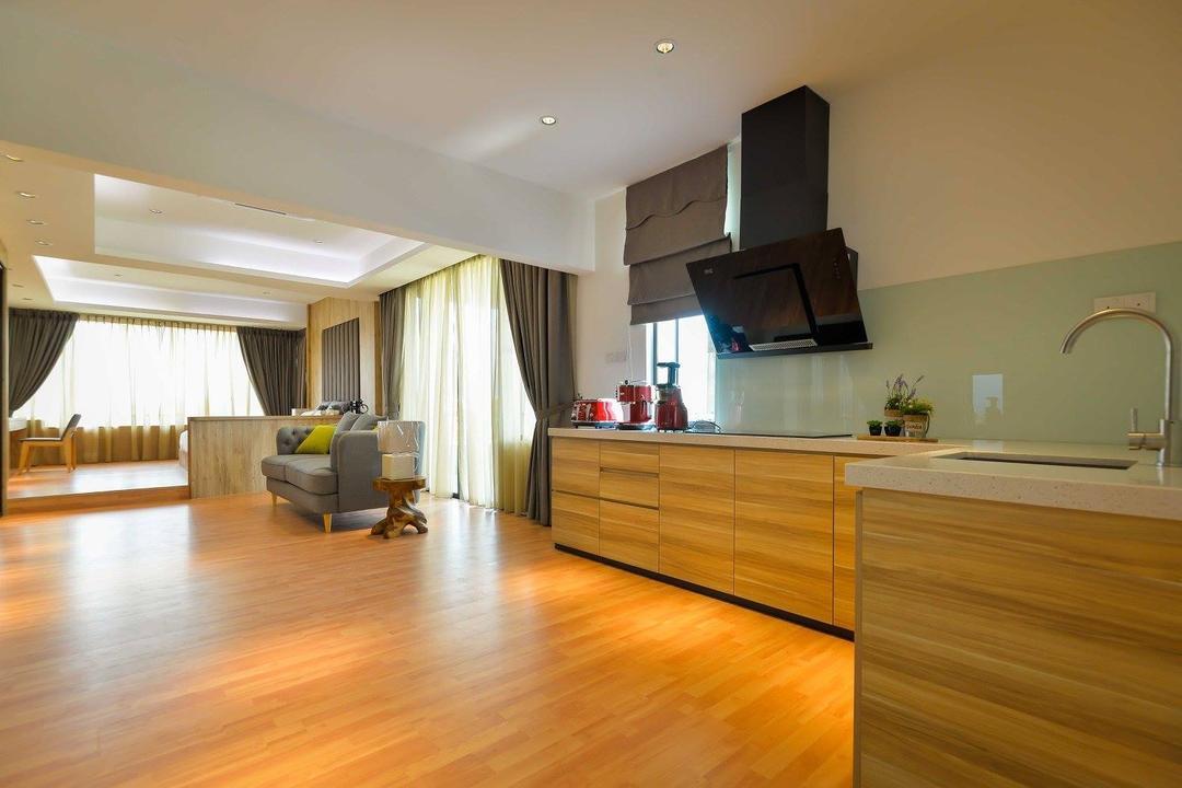 Laman Rimbunan, Kepong, Torch Empire, Contemporary, Landed, Couch, Furniture, Flooring, Sink, Hardwood, Wood