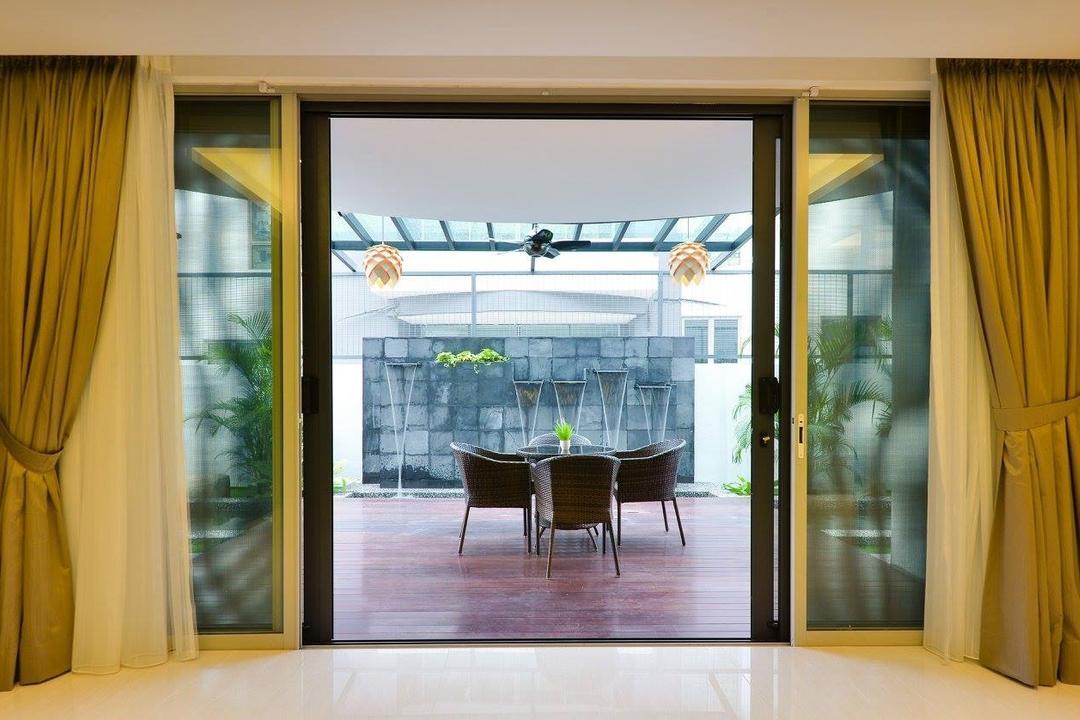 Taman Taynton View, Cheras, Torch Empire, Balcony, Landed, Curtain, Home Decor, Door, Sliding Door